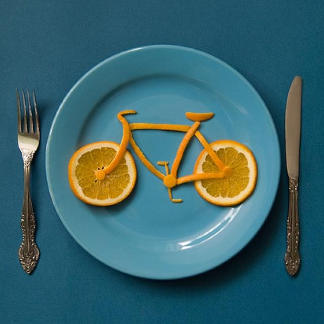 Bike! #oranges #bike