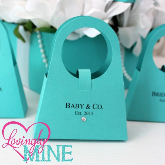 Purse Shaped Favor Bags | Set of 12 | Assembly Required | Light Teal | Aqua | Robin Egg Blue | Baby Shower | Bridal Shower | Birthday | Tiffany Blue | Pinteres…