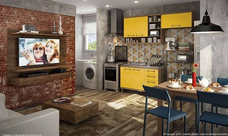 le thème Cozinha Planejada Pequena sur Pinterest  Cozinha Planejada ...