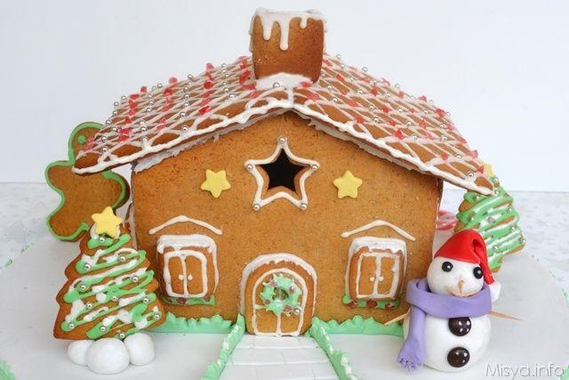 Casetta Di Natale Ikea : Casetta di pan di zenzero ricetta ricette natalizie