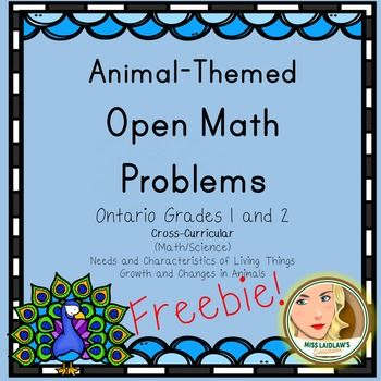 These open math problems were created using the Ontario Grades 1 and 2 Curriculum as a guideline.Open Math Problems are useful for differentiation and make excellent three-part math lessons as a variety of possible answers lead to rich sharing sessions.Like this resource?Check out Primary Open Math Problems - a resource of over 200 pages using Ontario's K-3 math curricula as a guideline!