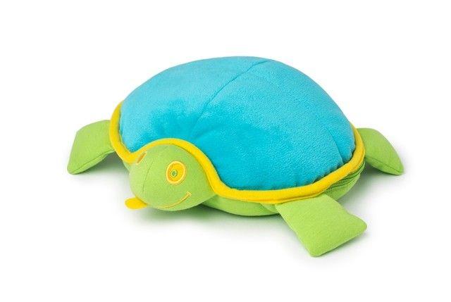DOOMOO Snoogy nahřívací plyšová želva, tyrkysová