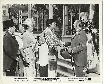 THE MATCHMAKER SHIRLEY BOOTH ANTHONY PERKINS VINTAGE MOVIE STILL PHOTO