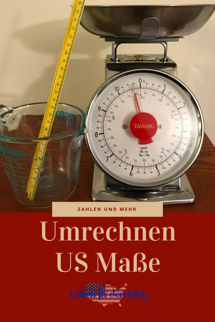 Umrechnen US Maße und wissenswertes zu Zahlen in den USA https://lebenindenusa.com/us-einheiten/