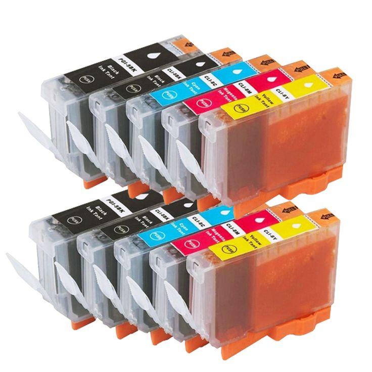 10 Compatible Canon PGI-5 Ink Cartridges for Pixma iP5200 iP7500 iP7600 MP610 MP800 MP800R Printers Black+Colour Nail That Deal https://nailthatdeal.com/products/10-compatible-canon-pgi-5-ink-cartridges-for-pixma-ip5200-ip7500-ip7600-mp610-mp800-mp800r-printers-blackcolour/ #shopping #nailthatdeal