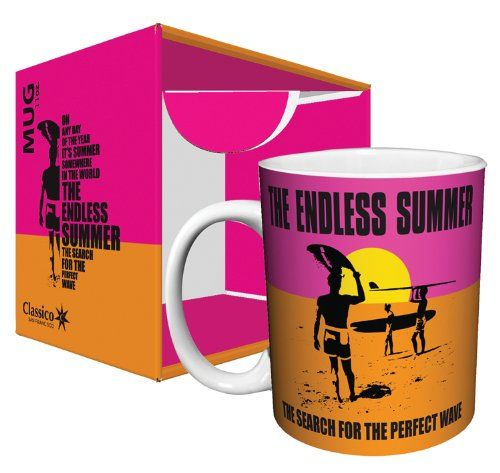 The Endless Summer Classic Surfing Movie Ceramic Boxed Gift Coffee Tea Cocoa 11 Oz Mug * You can find more details by visiting the image link.