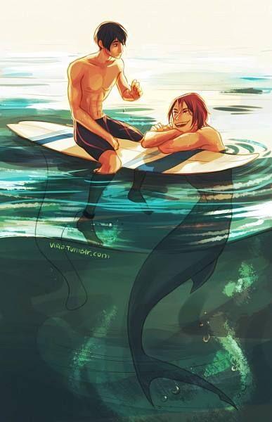 Sabes porque a los surfers les gustan mas las sirenas? Porque ellas tienen la misma pasion por el agua