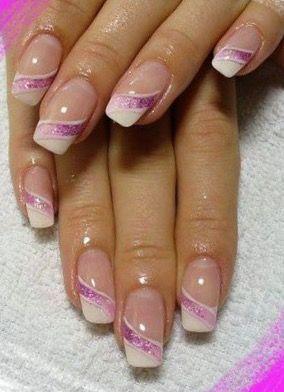 Nägel # Thumbnail   – Nail Polish French –   #