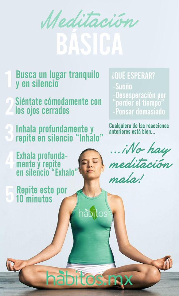 ¡Meditación básica! #coaching for life #bienestar / work it! ☼