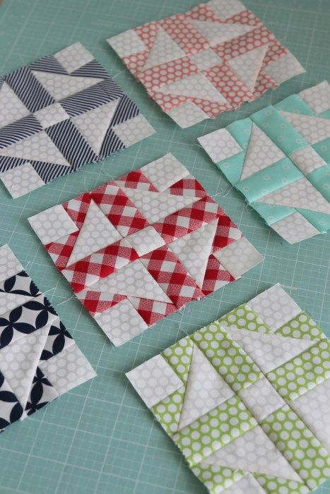 Love this! Great for using up scraps. Could make pot holders or put the together to be a quilt!