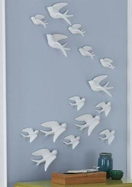 Set Of Ceramic Birds And Birds On Pinterest