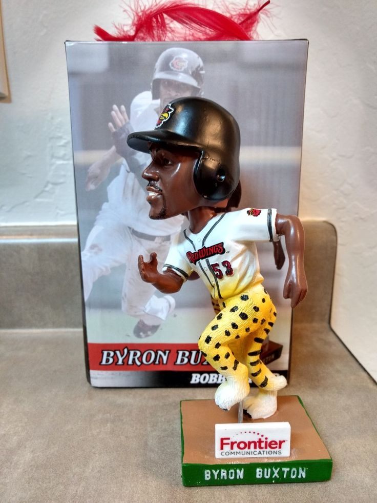Rochester Red Wings Byron Buxton bobblehead
