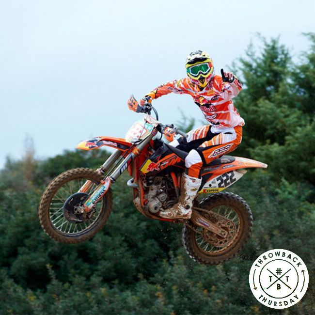 Antonio Cairoli at the Red Bull KTM team photoshoot in 2012! #tbt #throwbackthursday #axoracing