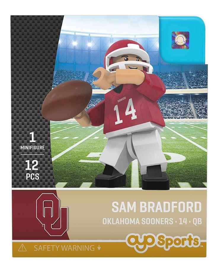 Oklahoma Sooners SAM BRADFORD College Legend Limited Edition OYO Minifigure