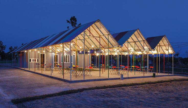 Tiny Landmarks: Re-ainbow Community Centre in Vietnam - Azure Magazine