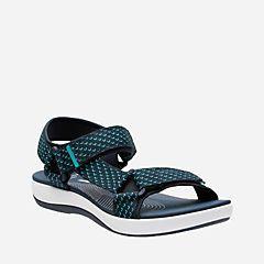 Brizo Cady Black Textile - Womens Sport Sandals - Clarks® Shoes Official Site