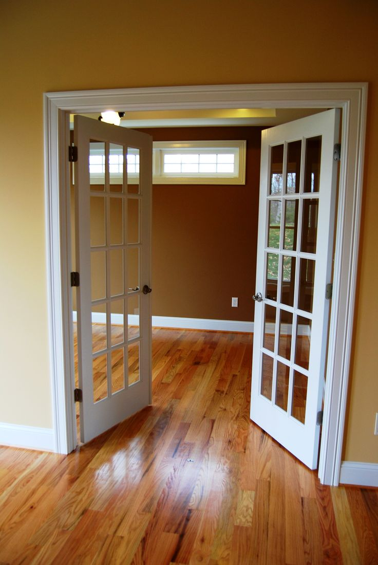 French Doors To Office This Would Be Beautiful In My