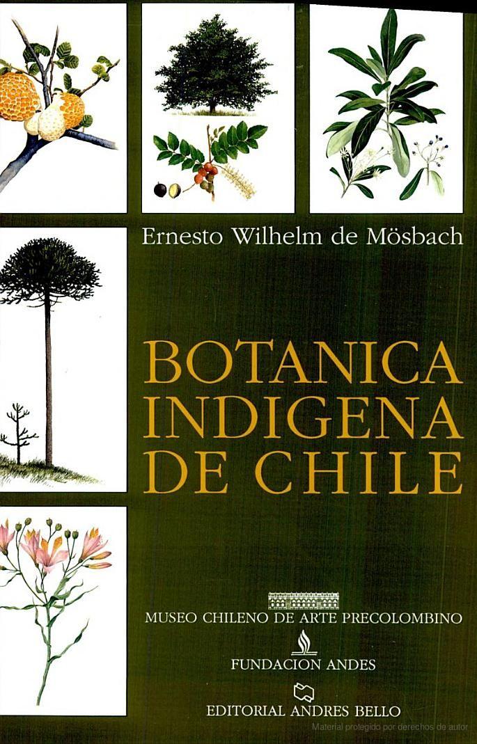 Bot nica ind gena de chile ernesto wilhelm de moesbach for Libros de botanica pdf