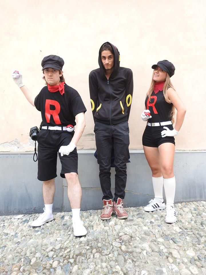 Team Rocket grunts cosplay #TeamRocket #Burtomics #GottaStealEmAll #Pokemon #BadGuys