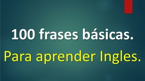 Lista de 100 frases básicas para Aprender Ingles. http://ladyblues.over-blog.es/2016/11/lista-de-100-frases-basicas-para-aprender-ingles.html?utm_source=_ob_share&utm_medium=_ob_twitter&utm_campaign=_ob_sharebar #aprenderingles #100frasesbasicasingles #inglesbasico #ingles
