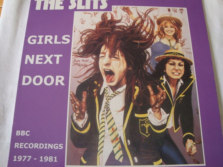 THE SLITS- RARE GIRLS NEXT DOOR-SR9810 Unofficial Release-Malta-12  PUNK VINYL