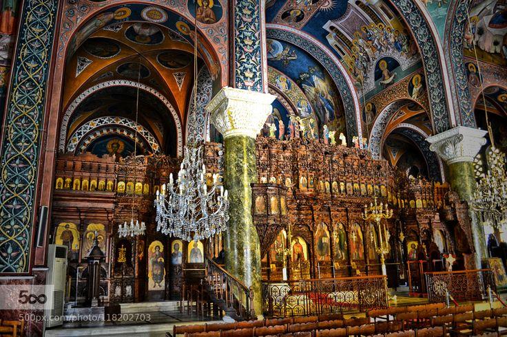 Holy Metropolis of Nea Smyrni - Pinned by Mak Khalaf City and Architecture Aghia FotiniAthensGreeceNea Smyrnichurchreligion by socratis