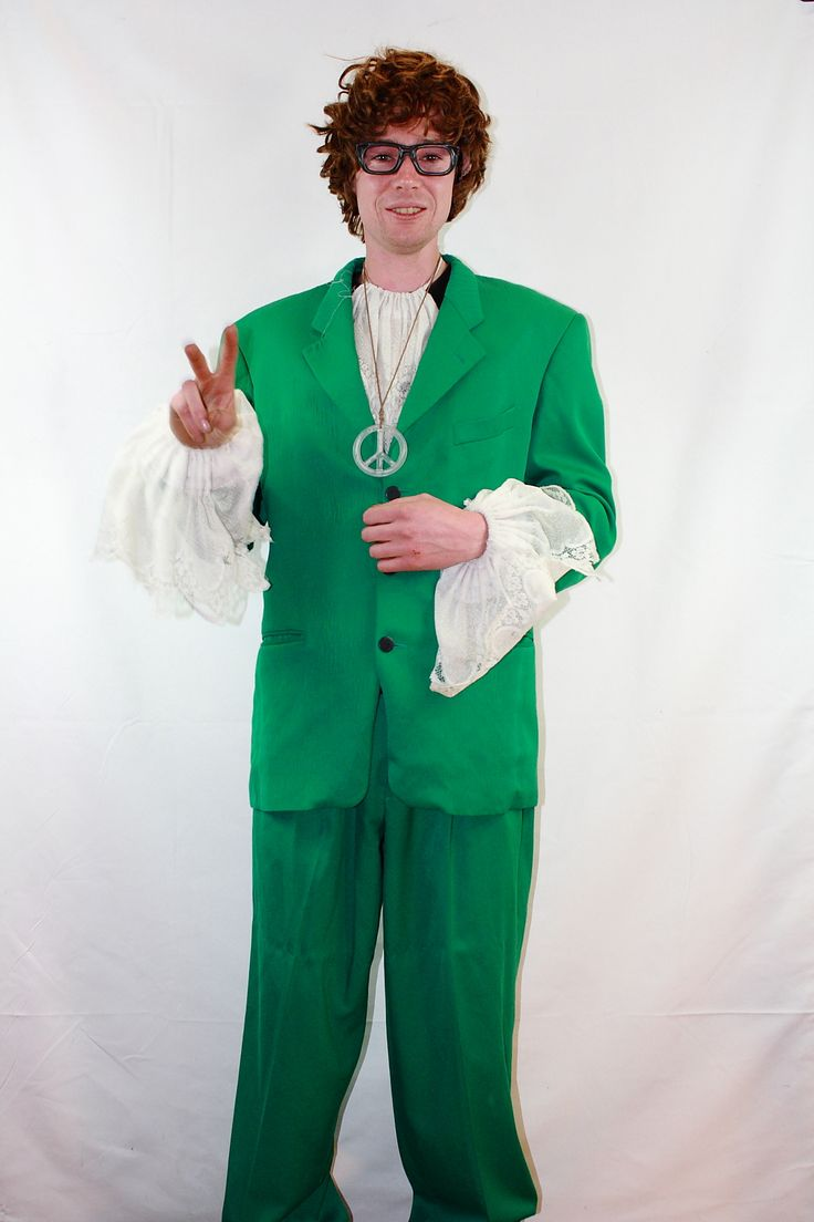 Austin Powers from our costume range
