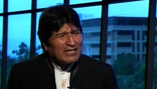"""An explosive new report claims the U.S. government has secretly targeted Bolivian President Evo Morales with a drug sting code-named """"Operation Naked King."""" The report — just released by The Huffington Post this morning — draws on court documents filed by a longtime DEA confidential informant, Carlos Toro. It appears to confirm Morales' long-standing suspicion that the U.S. Drug Enforcement Administration, or DEA, has sought to undermine ..."""