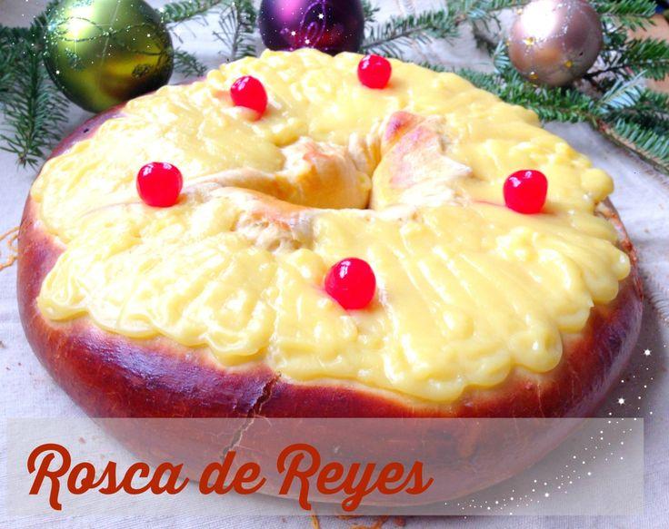 Día de los Reyes Magos ~ Rosca de Reyes #Receta
