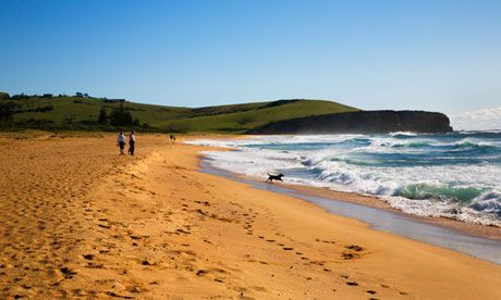 Beach Accommodations along the New South Wales coast - Werri Beach, Gerringong. Photograph: Mark Sunderland/Alamy