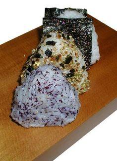 Rezepte für Onigiri - Reisbällchen