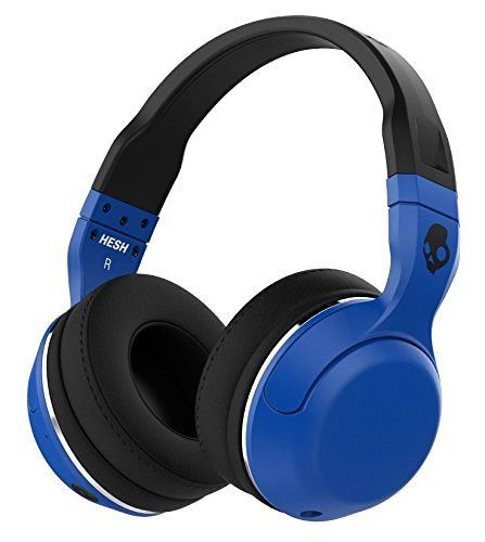 Skullcandy Hesh 2 Bluetooth Wireless Rechargeable Headphones with Mic Blue #Skullcandy