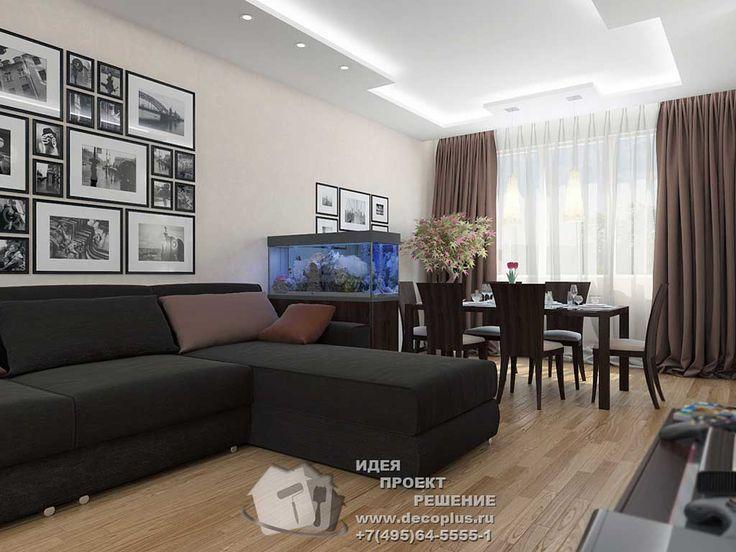 Дизайн гостиной фото интерьера http://www.decoplus.ru/portfolio/dizayn-kvartiry-46