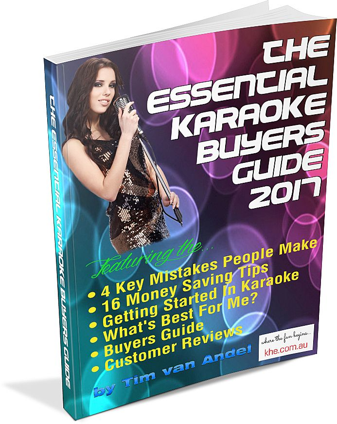 Interested in getting a Karaoke Mixing Amplifier and Speakers or a Powered Speaker, then get The Essential Karaoke Buyers Guide 2017 which covers in detail how they work and which will best suit your needs. Free Download