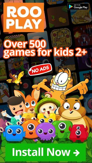Endless games for kids in 1 app! No ads & always safe.