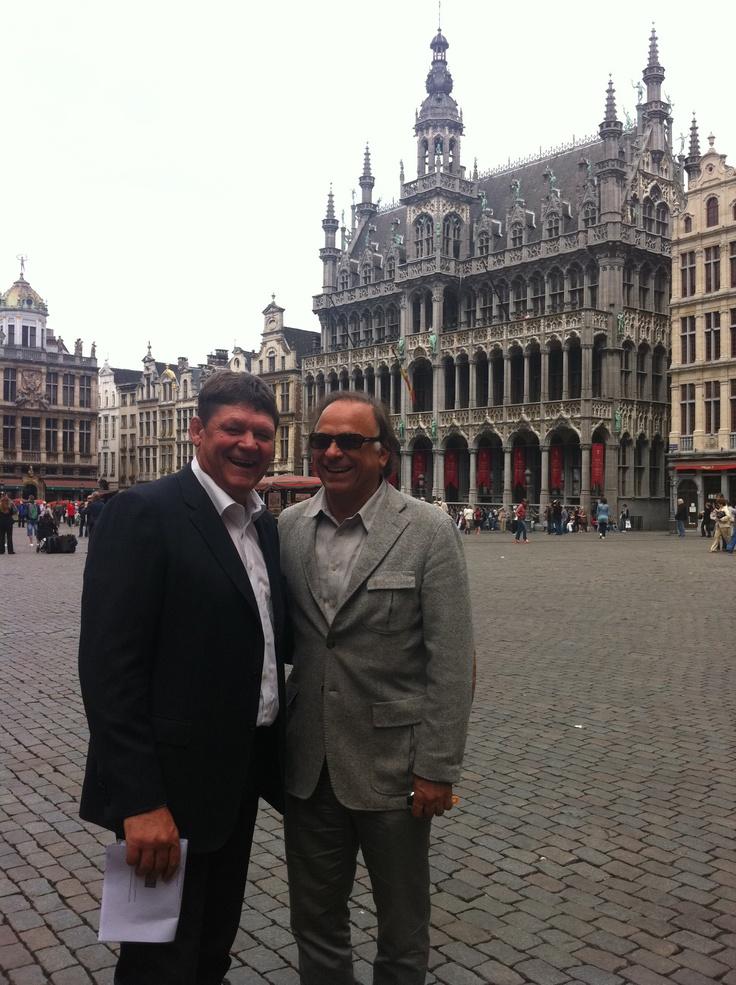 Wladimir and me in Antwerpen
