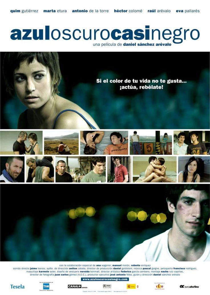 Azul oscuro casi negro (2006) España. Dir: Daniel Sánchez Arévalo. Drama. Romance. Enfermidade. Homosexualidade - DVD CINE 1361