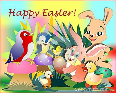 Easter Bunny And His Friends - Download From Over 40 Million High Quality Stock Photos, Images, Vectors. Sign up for FREE today. Image: 50259645