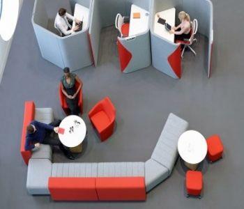 Açık Ofisler Kişisel Alanlar  #acoustic #officedsign #akustik #akustikdüzenleme #akustikpanel
