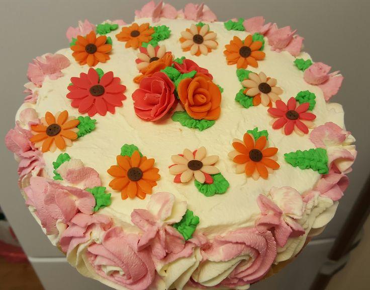 Malin bakes a cake: Rosor till en 30åring