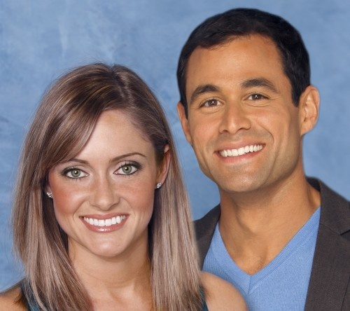 THE BACHELOR:  Jason Mesnick and his second choice Molly Malaney (2009).