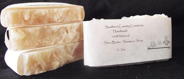 Shea Butter Shampoo Soap