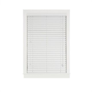Shop for Madera Falsa White Faux Wood 2-inch Plantation Blind. Free Shipping on orders over $45 at Overstock.com - Your Online Home Decor Outlet Store! Get 5% in rewards with Club O!