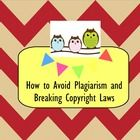 This lesson teachers students about copyright laws and plagiarism. Students will learn how to paraphrase information and cite sources in order to abide by copyright laws. Visit my Teachers pay Teachers site to download this FREE Smartboard lesson!