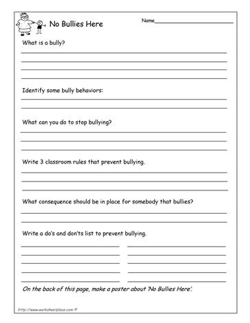 Anti-bully questionnaire.