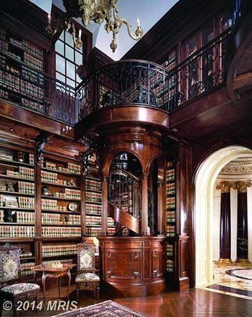 The 10 Most Gorgeous Private Libraries in the D.C. Area