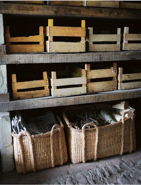 toast: Organizations, Garage, Root Cellar, Pantries, Baskets, Old Crates, Wooden Crates, Storage Ideas, Roots Cellar