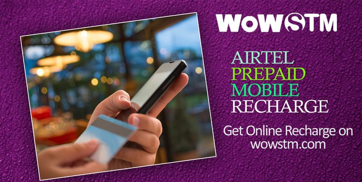 The trend of mobile recharge is growing among the consumers with the easy accessibility to the internet nowadays. Use wowstm.com to do online airtel recharge/ bill payments. #airtelrecharge, #billpayment, #airtelonlinerecharge, #onlinerecharge