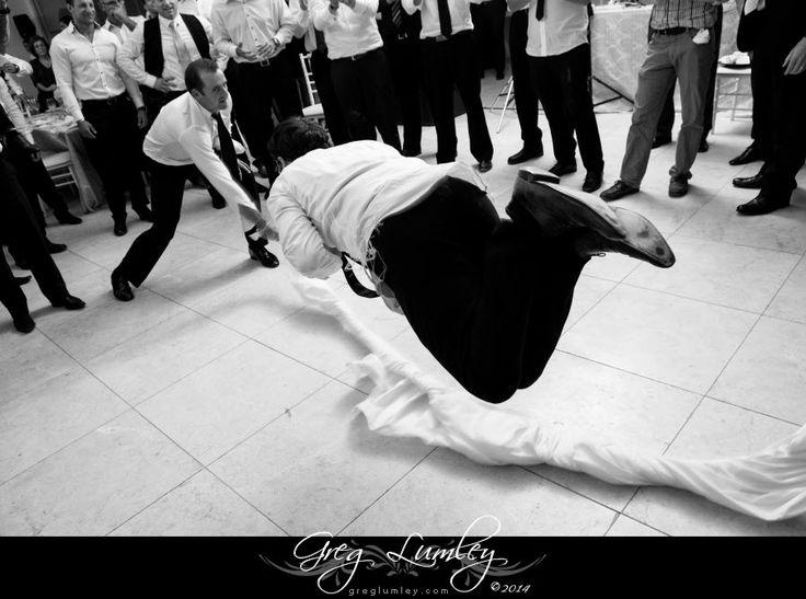 Dancing photo at Lourensford.  Jewish wedding.