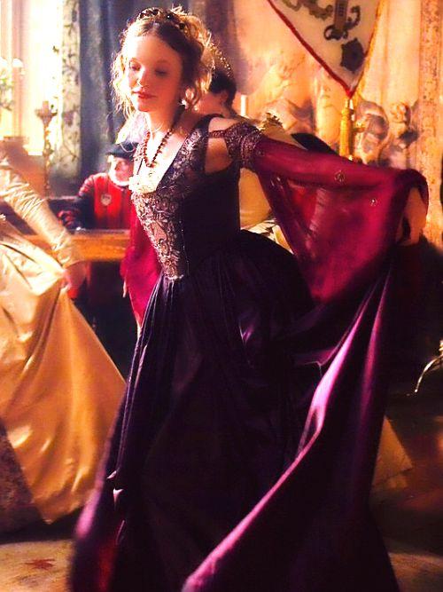 """Tamzin Merchant as Catherine Howard in """"The Tudors"""" (2007-2010)"""